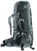 Рюкзак Aircontact 45+10 granite-black DEUTER